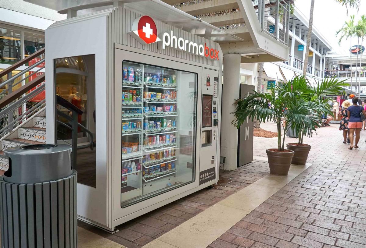 machine automatique produit pharmacie