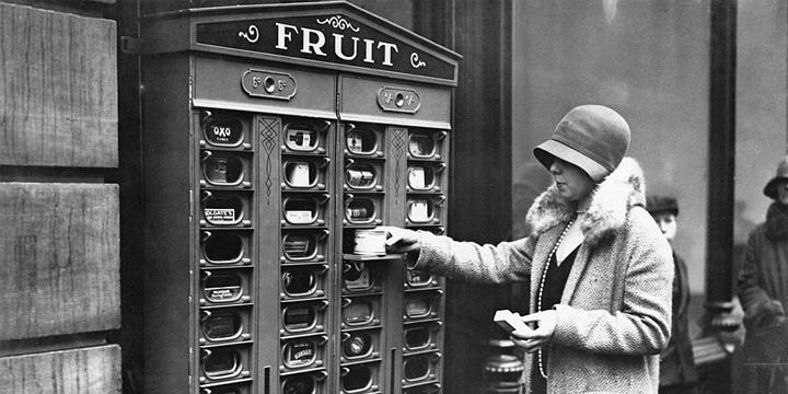 histoire de la distribution automatique