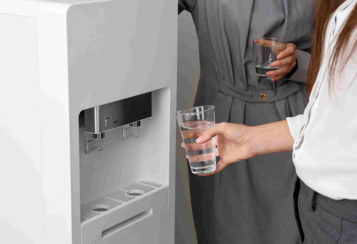 fontaine a eau fonctionnelle et propre