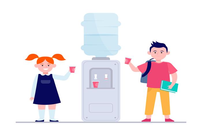 Fontaines à eau à bonbonnes ou sur réseau
