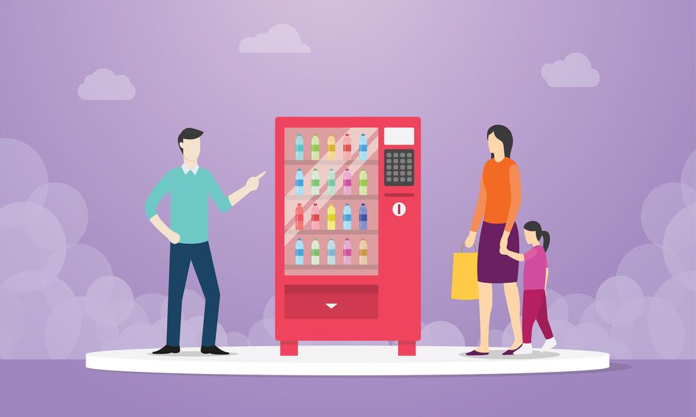 Habillage et installation de distributeurs