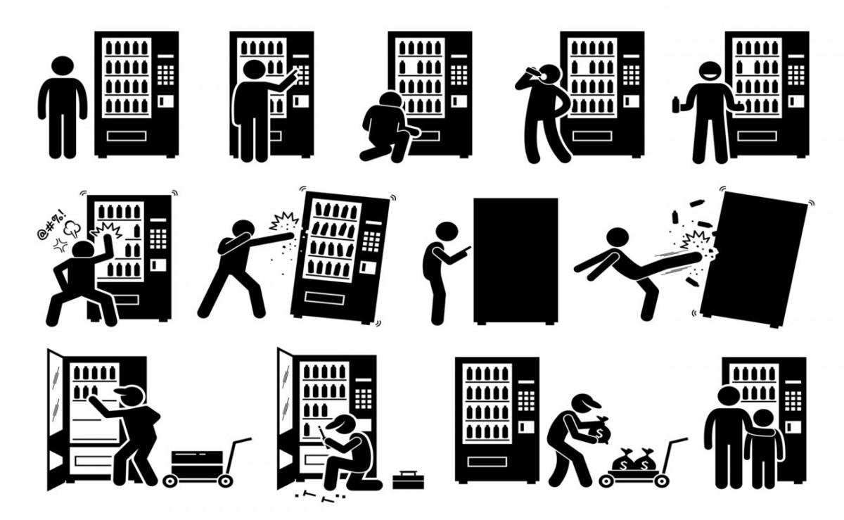 Distribution automatique et risque de vandalisme